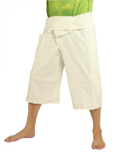 กางเกงเลสั้น *สีพื้น สีผ้าดิบ