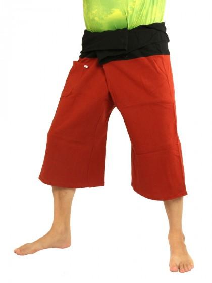 กางเกงเลสั้น * ต่อสองสี สีเขียวหัวเป็ดขอบสีดำ