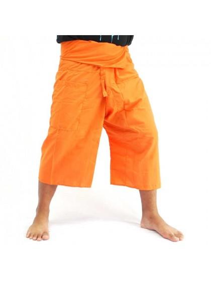 กางเกงเลขาสั้น*สีส้ม