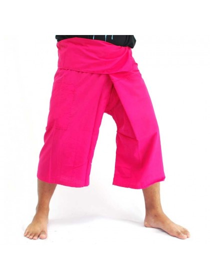 กางเกงเลขาสั้น*สีชมพู