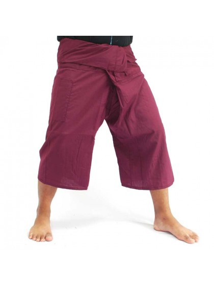 กางเกงเลขาสั้น*สีมังคุด