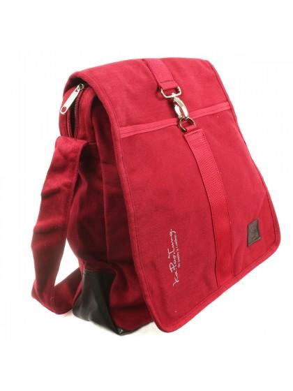 กระเป๋าสะพายไหล่*สีแดง