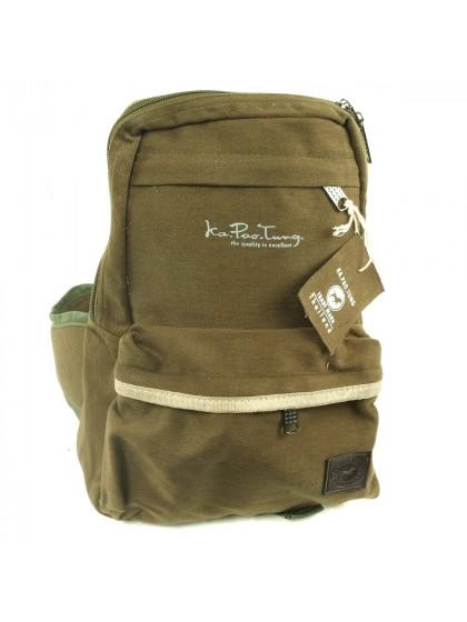 กระเป๋าสะพายข้าง*สีเขียวขี้ม้า