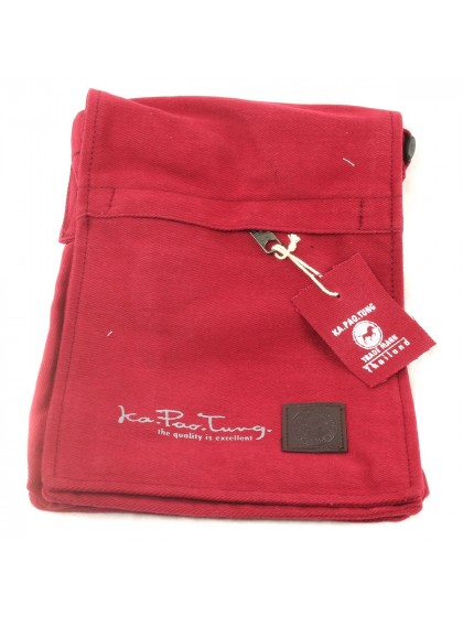 กระเป๋าสะพานสายเดี่ยว*สีแดง