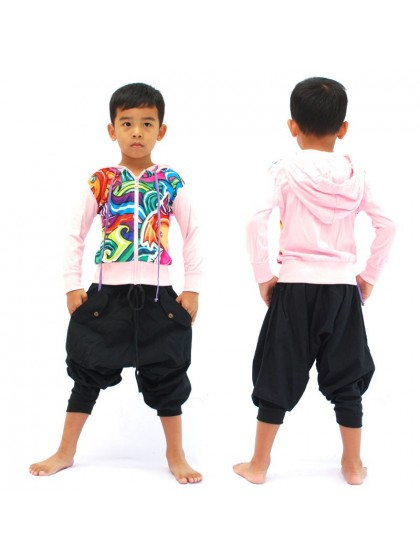 เสื้อแจ็คเก็ตเด็ก*ลายตามแบบ