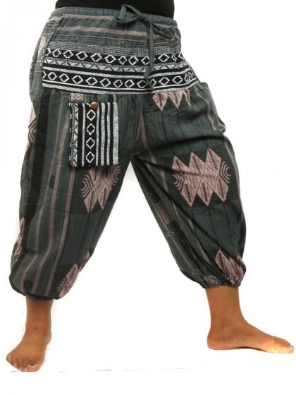 กางเกงขาห้าส่วน*สีเทา