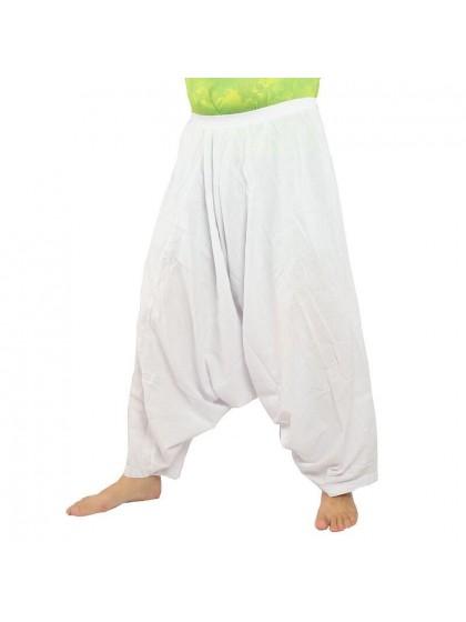 กางเกงอลาดิน*สีขาว