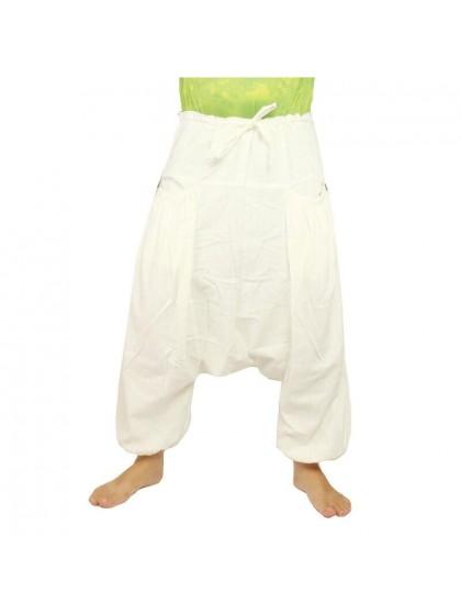 กางเกงอลาดิน * สีขาว