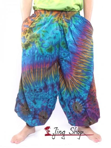 กางเกงฮาเร็ม กางเกงมัดย้อม กางเกงขาตรง หลากสี