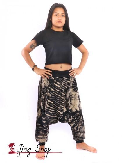 กางเกงฮาเร็ม กางเกงม้ง กางเกงแขก กางเกงมัดย้อม สีตามแบบ