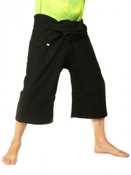 กางเกงเล *สีพื้น สีดำ